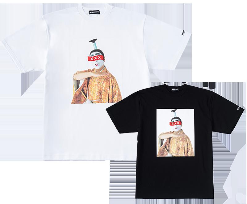 バカ殿様 肖像Tシャツ